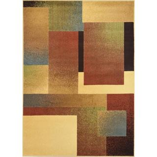 Miranda Contemporary Grey/ Multicolored Area Rug (7'10 x 10'10)