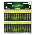 Go Green Alkaline Battery AA (Pack of 48)