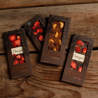 'I Love You' Chocolate Bar Collection (Pack of 4)