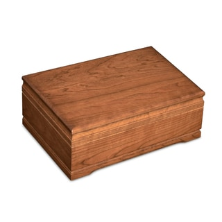 American Chest Washington Solid American Cherry Hardwood Humidor