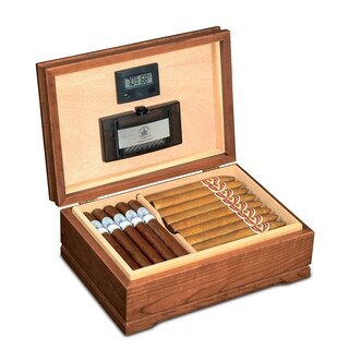 American Chest Company Jefferson Solid American Cherry Hardwood Humidor