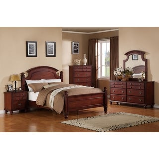 Laura Cherry Twin Bed