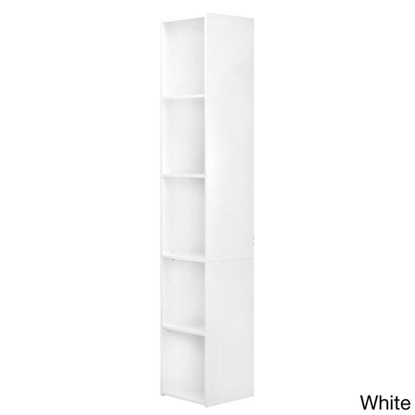 Black & Decker White 5-compartment Laminate Vertical Organizer