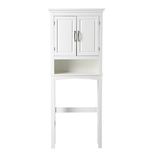 Chamber Collection White 3-shelf Bathroom Space Saver