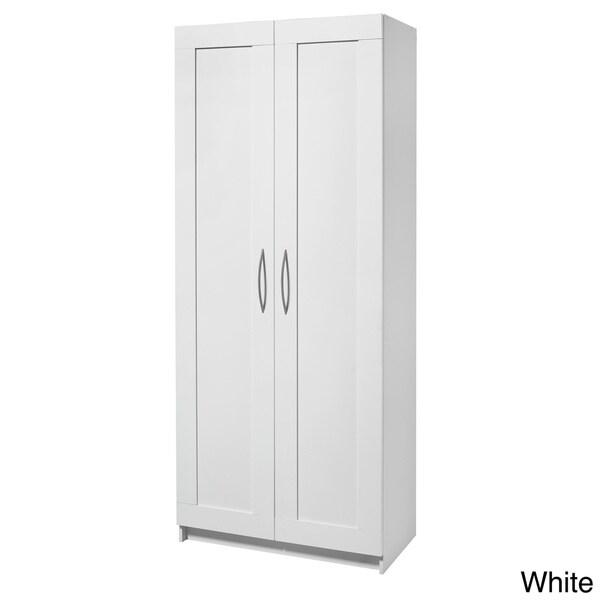 Akadahome 72 Inch 5 Shelf Storage Cabinet 16342984