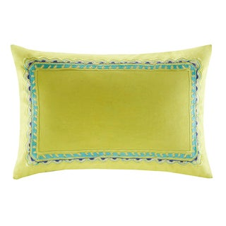 Echo Serena Oblong Embroidered Throw Pillow