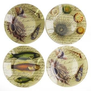 Notions Starfish (Set of 4) Canape Plate