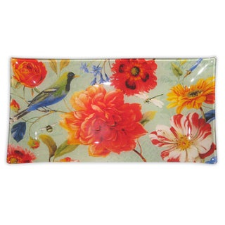 Notion Jade Flower Rectangular Tray