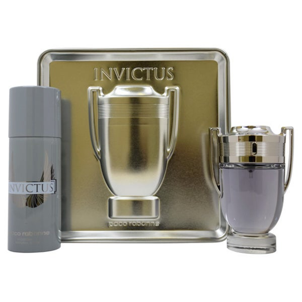 Paco Rabanne Invictus Men's 2-piece Gift Set