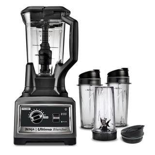 Ninja BL830CB Ultima 2-stage Blending System with Cookbook and Single Serve