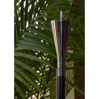 Polished Tuxedo Tiki Torch