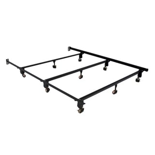 Serta Stabl-Base Ultimate Bed Frame Queen with Wheels