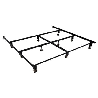 Serta Stabl-Base Ultimate Bed Frame Cal King with Wheels