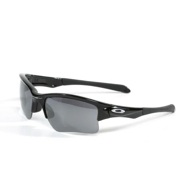 Oakley Quarter Jacket Polished Black Sunglasses (Youth Fit)
