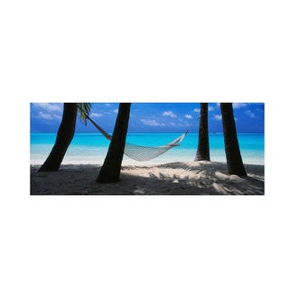 David Evans 'Island Bliss' Canvas Art