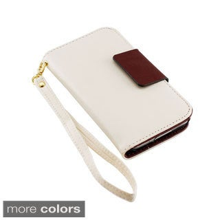 Gearonic PU Leather Wallet Case for Samsung Galaxy S5 SV i9600