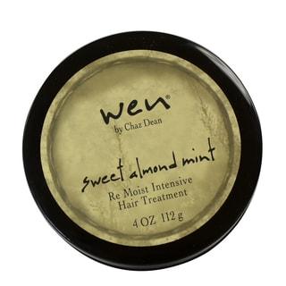 Wen Sweet Almond Mint Re Moist Intensive 4-ounce Hair Treatment