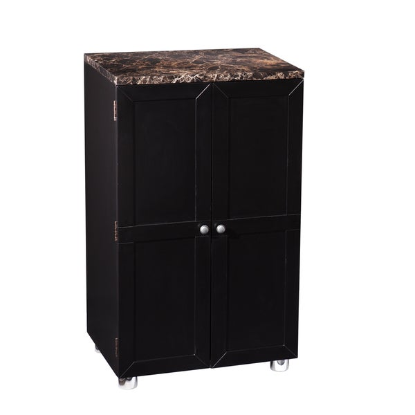Upton Home Black Capeton Contemporary Bar Cabinet Overstock Shopping Big Discounts On Upton