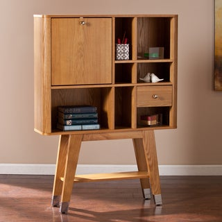 Upton Home Perry Midcentury Modern Fold-Down Desk
