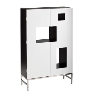 Upton Home Shadowbox Wine /Bar Cabinet