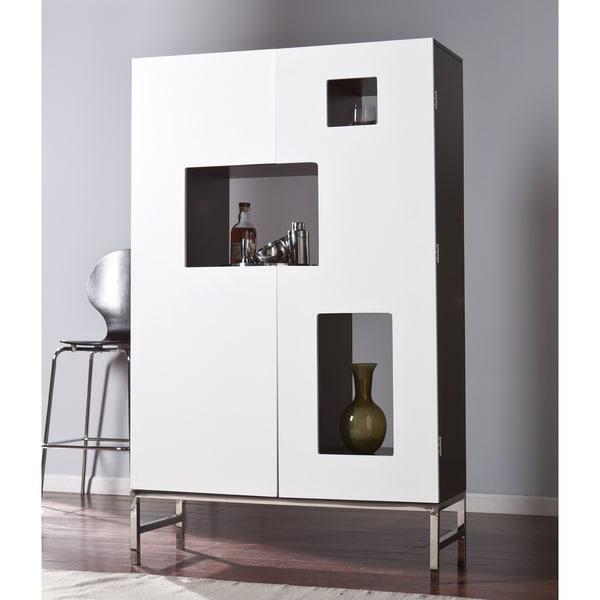 Harper Blvd Shadowbox Wine /Bar Cabinet