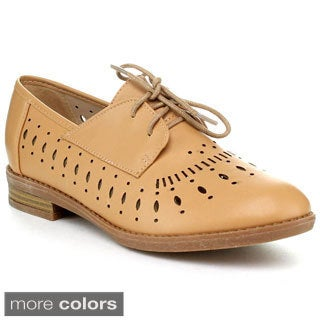 BUMPER VENICE02X Women's Lace up Oxfords