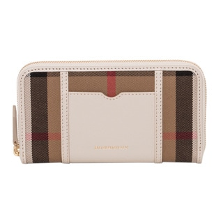Burberry Large Ziggy House Check Wallet