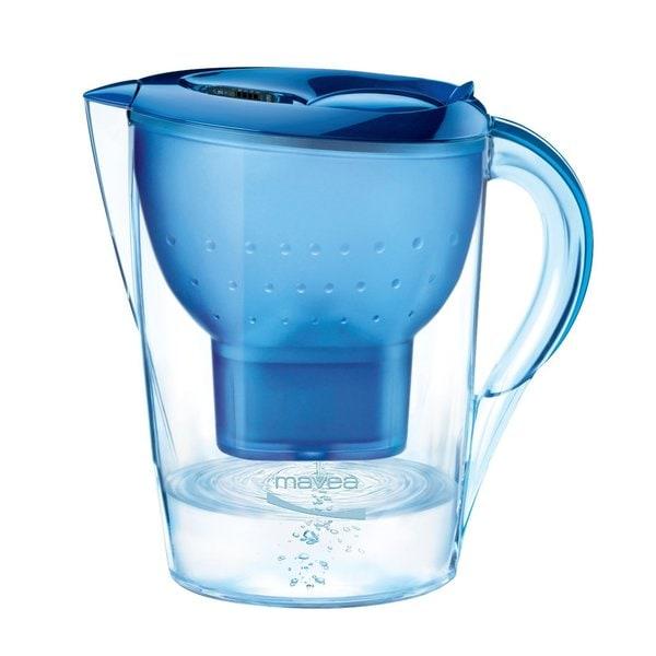 Mavea Marella Blue 8-cup Water Filtration Pitcher