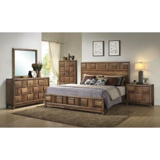 Archer Walnut 5-piece Bedroom Set
