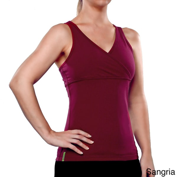 Yoga City Women's 'Boston' Crossover Tank Top