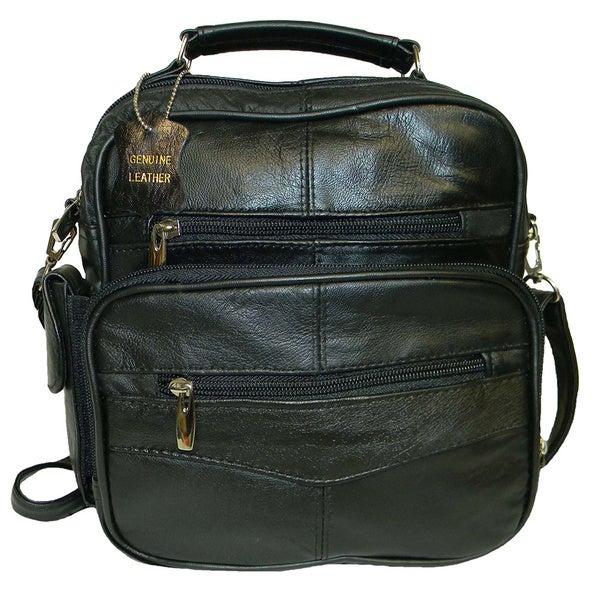 Hollywood Tag Black Lambskin Handheld Side Bag