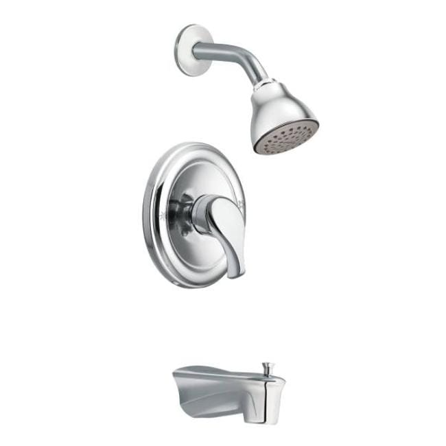 Moen Tl172 Chrome Tub/Shower Valve Trim, 2-Function Pressure Balanced Cartridge