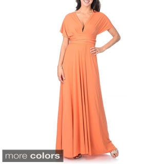 Von Vonni Women's Solid Convertible Gown (One size)