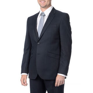 English Laundry Men's Navy 2-piece Suit