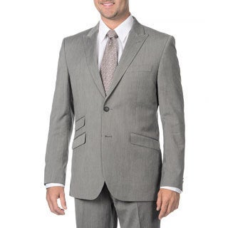 English Laundry Men's Grey 2-piece Suit