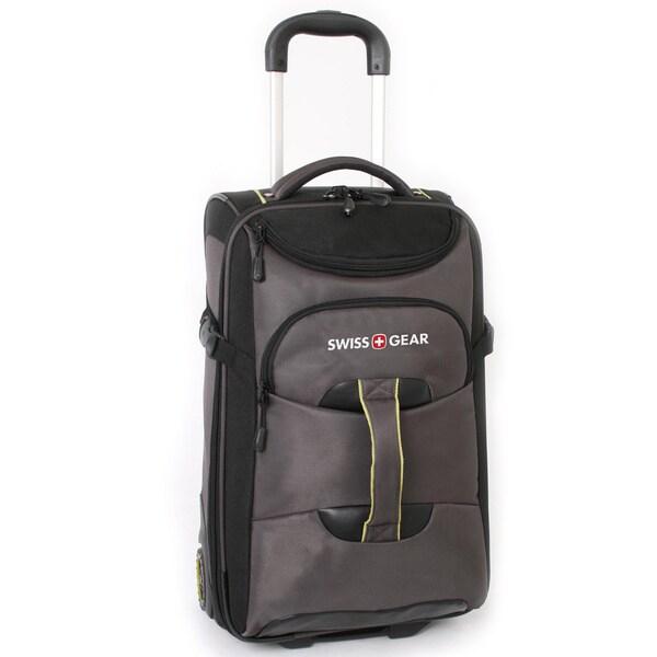 SwissGear Sierre II 21-inch Carry On Rolling Lift Upright / Backpack