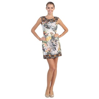 Hadari Women's Tropical Shift Dress