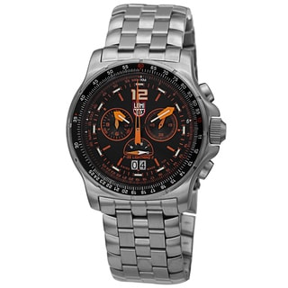 Luminox Men's 9382 Chronograph Stainless Steel Black Dial Watch