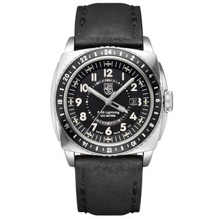 Luminox Men's 9421 P-38 Lighting Leather Watch