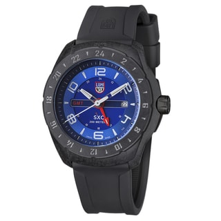 Luminox Men's A.5023 Space Series Space SXC Carbon GMT Blue Watch