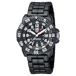 Luminox Men's 3052 Navy Seal Colormark Black/ White Watch