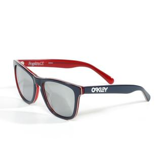 Oakley Frogskin LX Sunglasses in Navy with Iridium Lenses