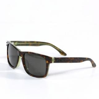 Oakley Unisex 'Holbrook' LX Sunglasses in Tortoise Green with Dark Grey Lenses