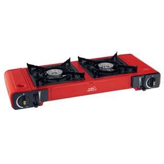 Texsport Portable Twin Adjustable Butane Stove