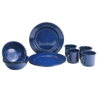 Texsport 4-Person Enamelware Set