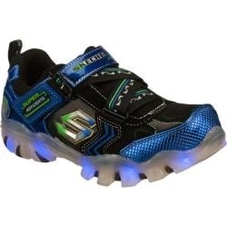 Boys' Skechers Magic Lites Street Lightz Spektra Blue/Black