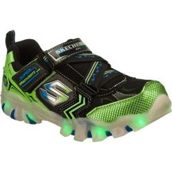 Boys' Skechers Magic Lites Street Lightz Spektra Green/Black