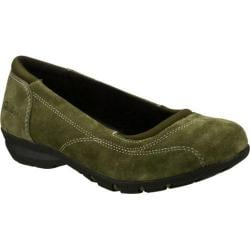 Women's Skechers Relaxed Fit Career Girl Friday Olive
