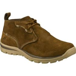 Men's Skechers Relaxed Fit Superior Up Word Brown