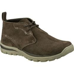 Men's Skechers Relaxed Fit Superior Up Word Gray